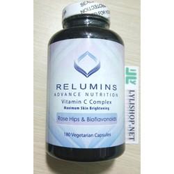 Viên uống trắng da Relumins Vitamin C Complex 180 viên của Mỹ relumin