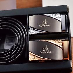 Hộp nịt quà tặng cho nam giới mẫu 2 mặt đẳng cấp sang trọng CK