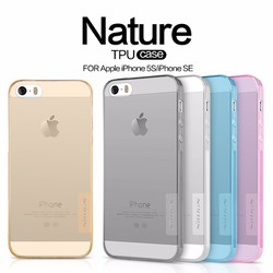 Ốp lưng iPhone 5s, SE Silicon Nillkin