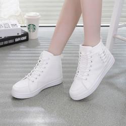 Giày cổ cao thời trang nữ new style