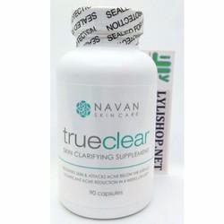 Chuyên Trị Giảm Các Loại Mụn Navan Skin Care True Clear 90 viên từ Mỹ