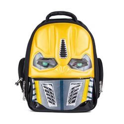 Balo Trẻ Em Transformers Có Đèn Led Màu Vàng