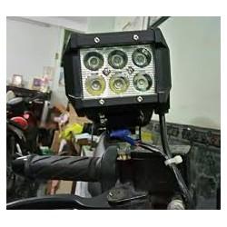 Đèn Pha Led C6 trợ sáng gắn xe máy