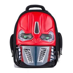 Balo Trẻ Em Transformers Có Đèn Led Màu Đỏ