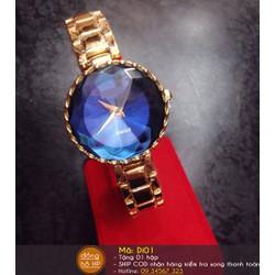 Đồng hồ nữ pha lê sành điệu