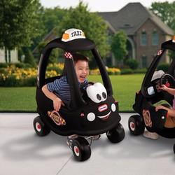 Xe chòi chân Little-Tikes cozy Taxi đen LT-172182