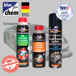 Bộ sản phẩm Bluechem Làm sạch và Bảo vệ Động cơ Diesel