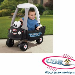 Xe ôtô chòi chân Little -Tikes cảnh sát LT-615795