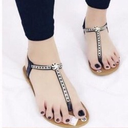 giày sandal quai T