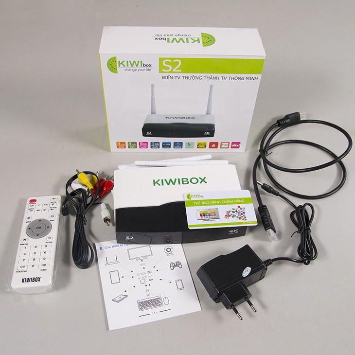 Android TV Box Kiwi S2 chính hãng. 10