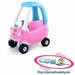 Xe chòi chân Little Tikes Princess Cozy Coupe màu hồng LT-614798