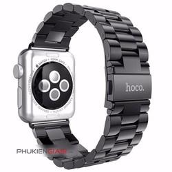 Dây đeo đồng hồ Apple Watch 38mm cao cấp HOCO thép không gỉ