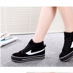 B04D - Giày bốt nữ năng động cá tính, phong cách Hàn Quốc