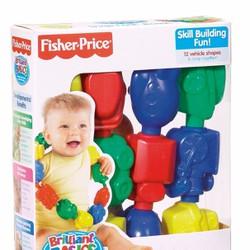Bộ xếp chuỗi cho bé từ 6 tháng Fisher Price - hình khối