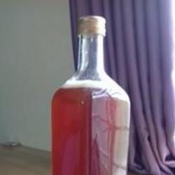 Mât ong nguyên chất 1 lít chai thủy tinh vuông như hình