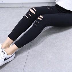 quần rách jean thun
