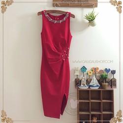 Đầm Boby Dự Tiệc Đính Hạt 425