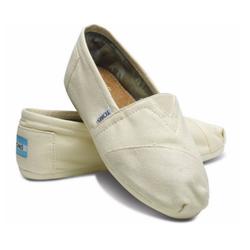 Giày toms - màu kem