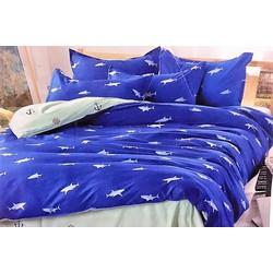 Bộ Drap trải giường Thuyền và biển độc đáo  giá rẻ TL17