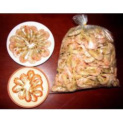Hải sản sấy khô - tôm khô nguyên vỏ cà mau