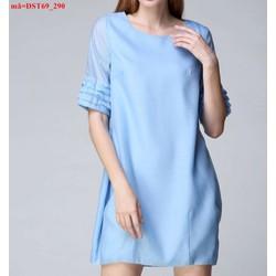 Đầm suông tay thiết kế xếp ly sành điệu uDST69 View