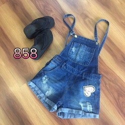 Yếm jean short size S, M, L - A28569