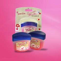 Bộ 2 dưỡng môi màu tự nhiên Vaseline Pink Lips