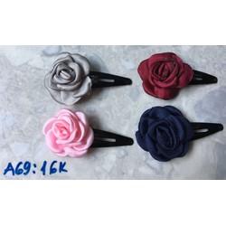 2 Kẹp mái hoa hồng