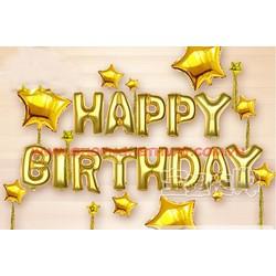 Bóng bay sinh nhật Happy Birthday