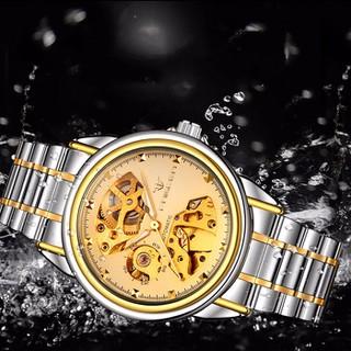 Đồng hồ cơ lộ máy nam Automatic FNG 8818 dây kim loại - FNG8818ST thumbnail