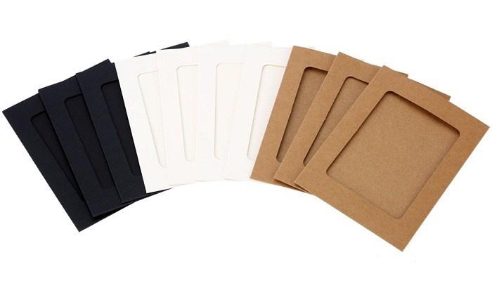 Bộ khung ảnh giấy treo tường 6 inch 3 màu 2