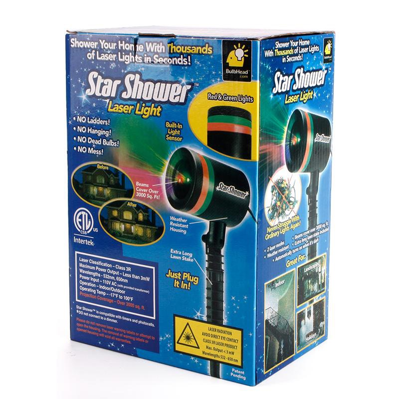 ĐÈN LASER STAR SHOWER 6