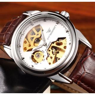Đồng hồ cơ lộ máy nam Automatic FNG 8818 dây da - FNG8818LT thumbnail