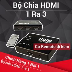 Bộ chuyển 3 cổng HDMI