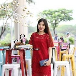 Đầm ren oversize - Hình shop chụp
