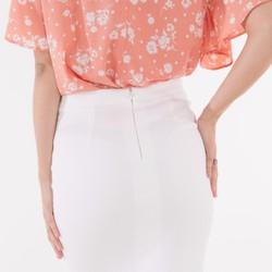 Váy đuôi cá trắng