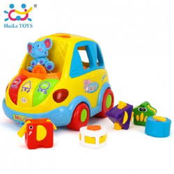 Xe voi thả hình hãng Huile Toys
