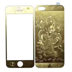 Miếng dán cường lực hình rồng iphone 5 ,5s
