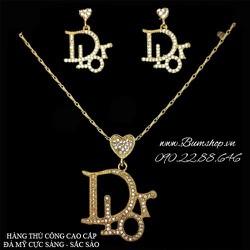 bộ trang sức Dior cẩn đá cao cấp sang trọng