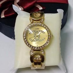 Đồng hồ vàng đính đá cho phái đẹp thêm tự tin và lôi cuốn-535