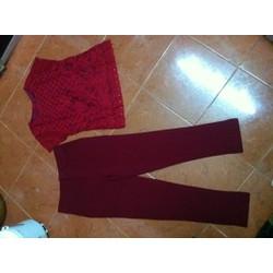 Sét áo ren quần dài 784PQ7-hàng shop