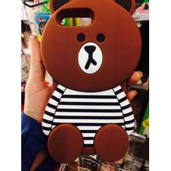 Ốp gấu nâu iphone5-hàng mới