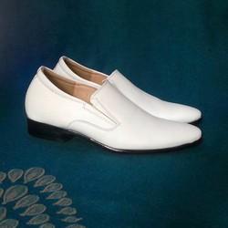 Giày tăng chiều cao nam da thật S745, cao 6cm