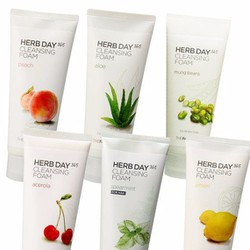 SỮA RỬA MẶT HERB DAY 365 CLEANSING FOAM THEFACESHOP 5S578