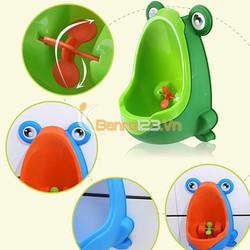 Bệ tiểu mini hình ếch cho bé trai
