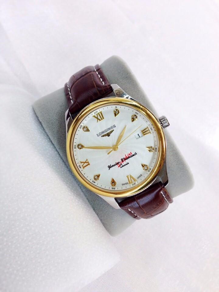 đồng hồ kim dây da thật kính tinh thể sapphire mã LG.103 3
