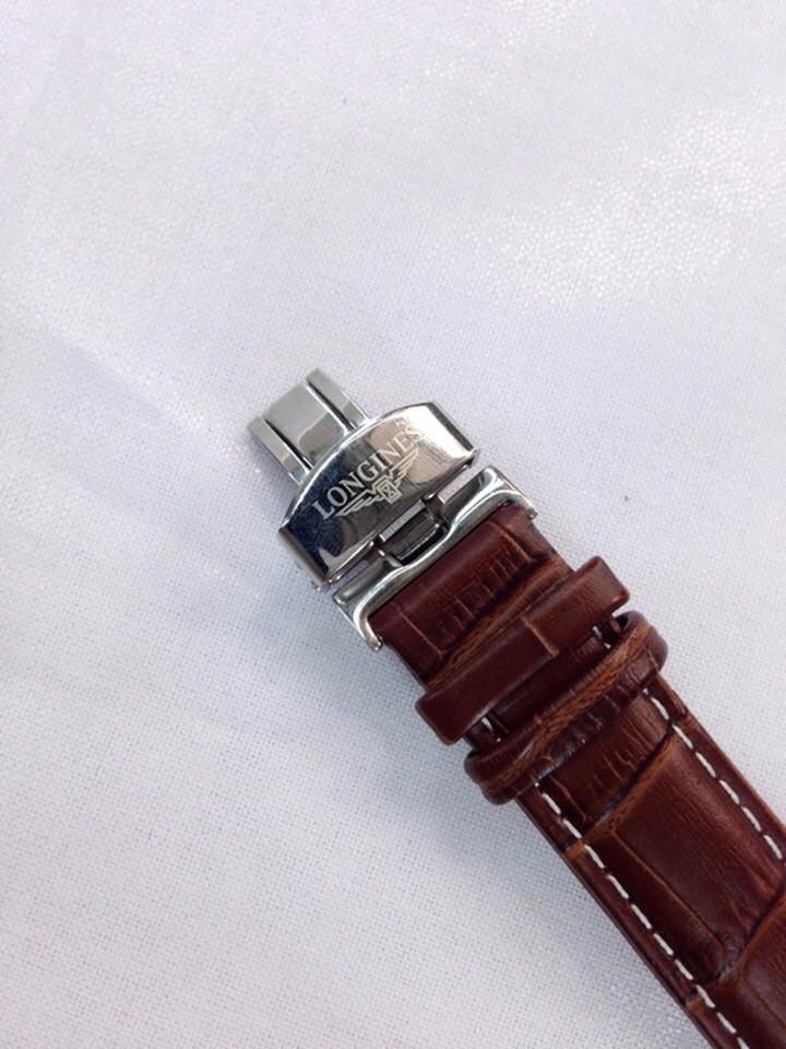 đồng hồ kim dây da thật kính tinh thể sapphire mã LG.103 5