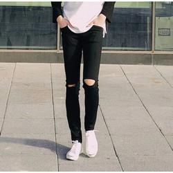 Jeans rách gối