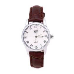 Đồng hồ cao cấp nữ SKMEI nữ dây da cổ điển SK005