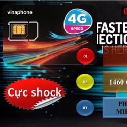 Sim 4G Vinaphone 120Gb mỗi tháng